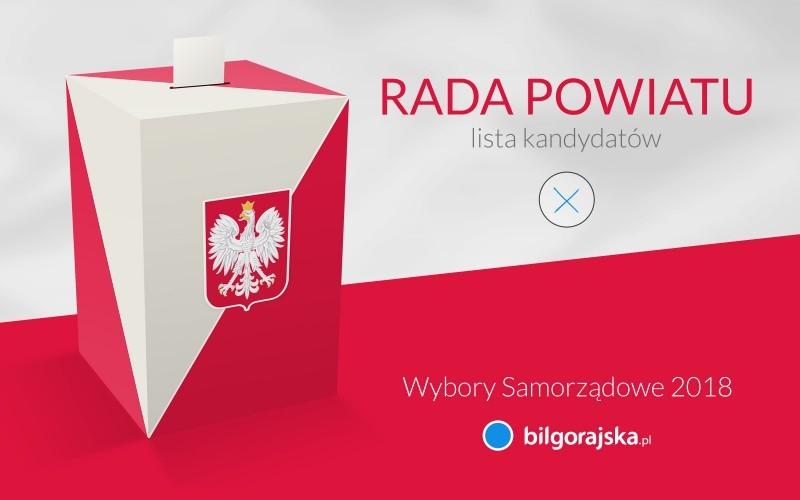 Kandydaci do Rady Powiatu Biłgorajskiego