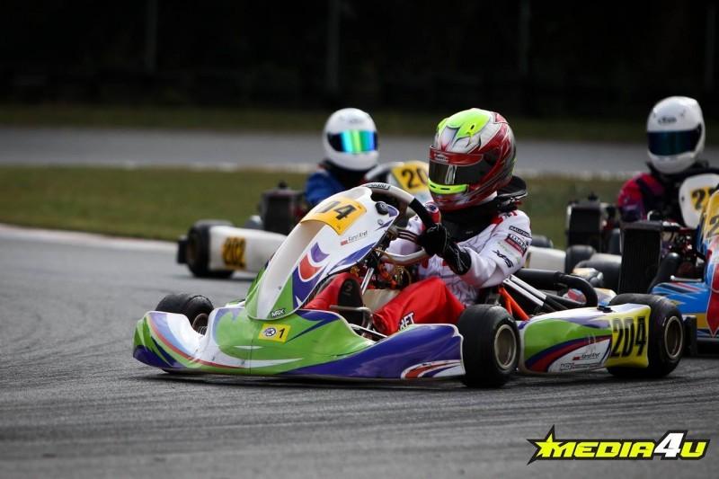 Karol Kręt kartingowym mistrzem Rotax Max Challenge Poland 2018!