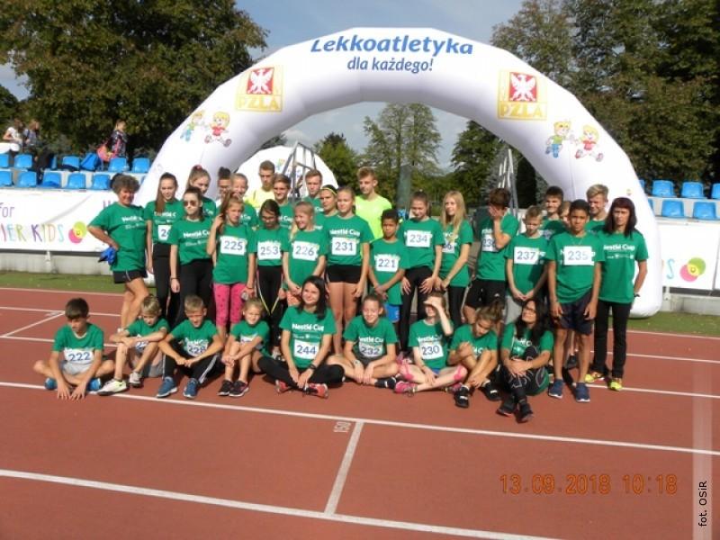 Lekkoatleci szkółki OSiR wystąpili wfinale Nestle Cup