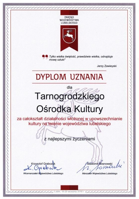 Wyróżnieni podczas Wojewódzkiej Gali Kultury
