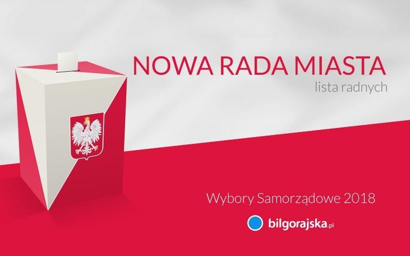 Radni Rady Miasta Biłgoraj wybrani