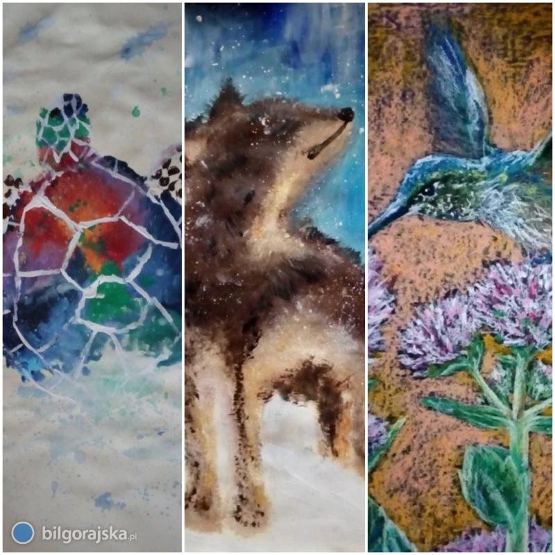Zwierzęta całego świata - sukces wogólnopolskim konkursie plastycznym