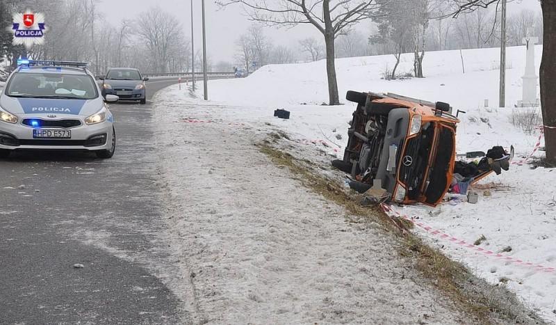 Niedostosowanie prędkości przyczyną wypadku