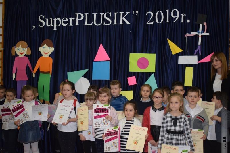 SuperPLUSIK - Gminny Konkurs Matematyczny dla sześciolatków