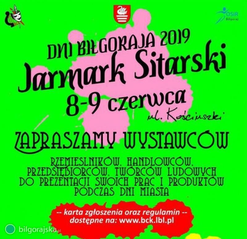 Jarmark Sitarski - zaproszenie dla wystawców
