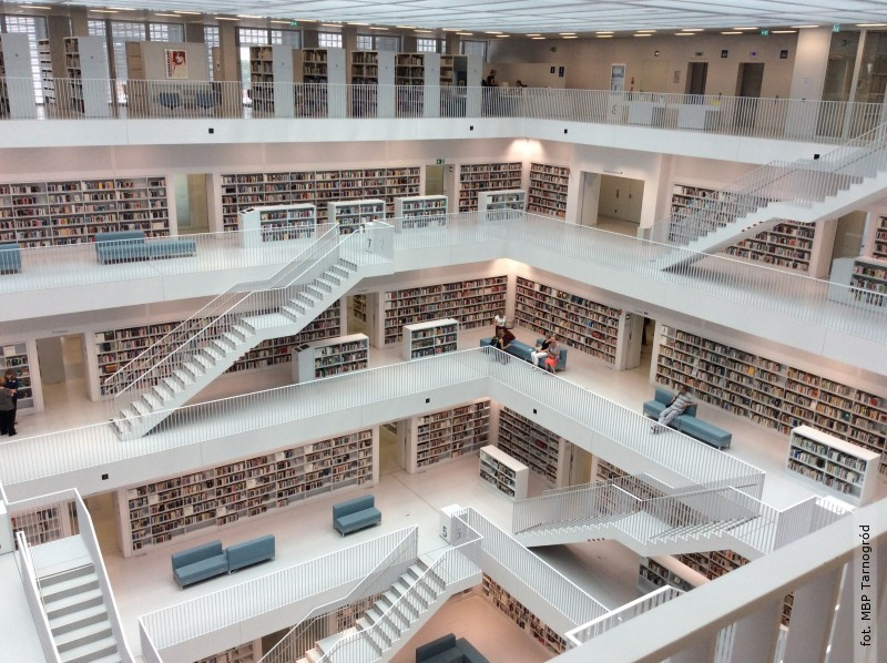 Z wizytą wnajpiękniejszych inajwiększych bibliotekach świata