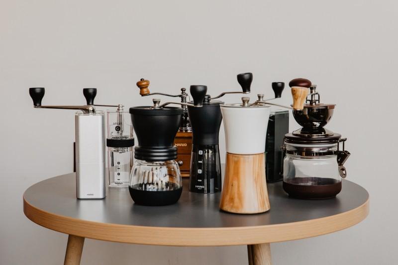 Młynki do kawy - rodzej, typy.