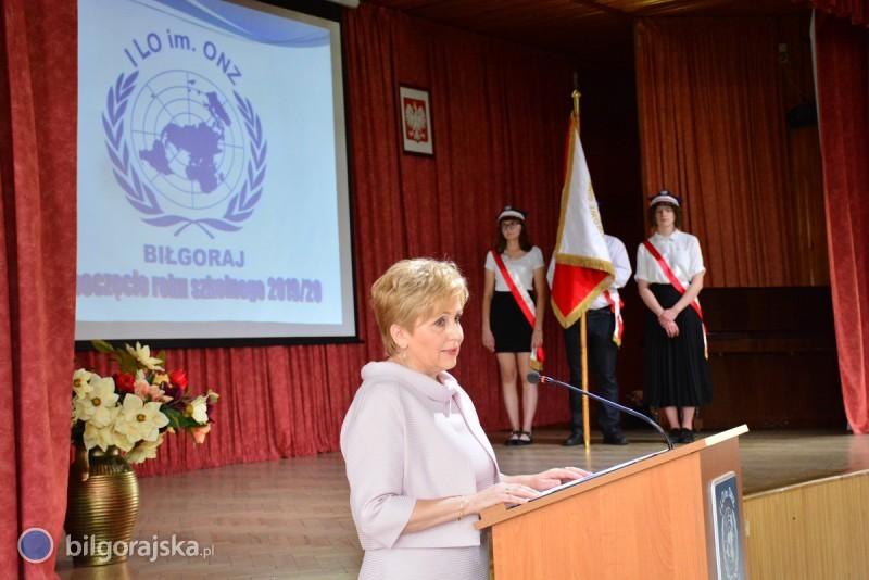 Rozpoczęcie roku szkolnego wI LO im. ONZ