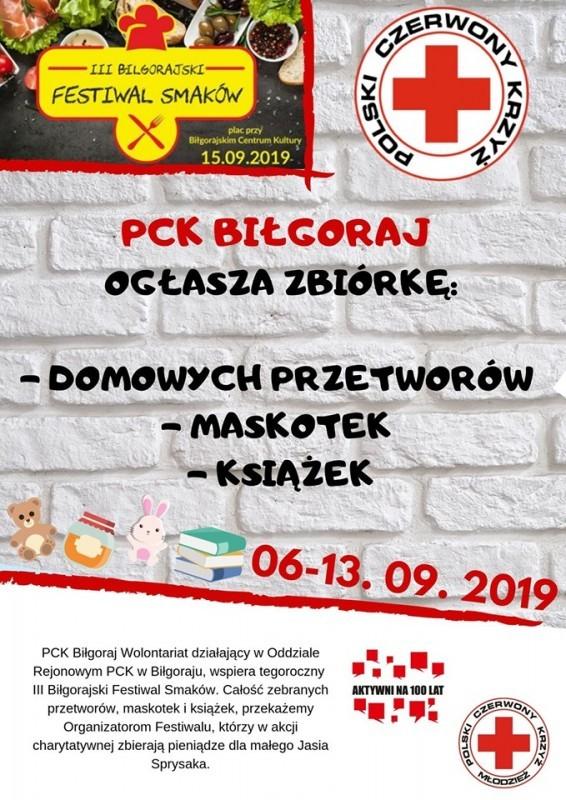 Młodzież zPCK wspiera Festiwal Smaków