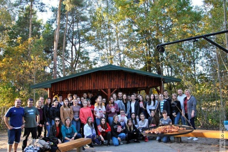 24. wizyta niemieckiej młodzieży wI LO im. ONZ wBiłgoraju