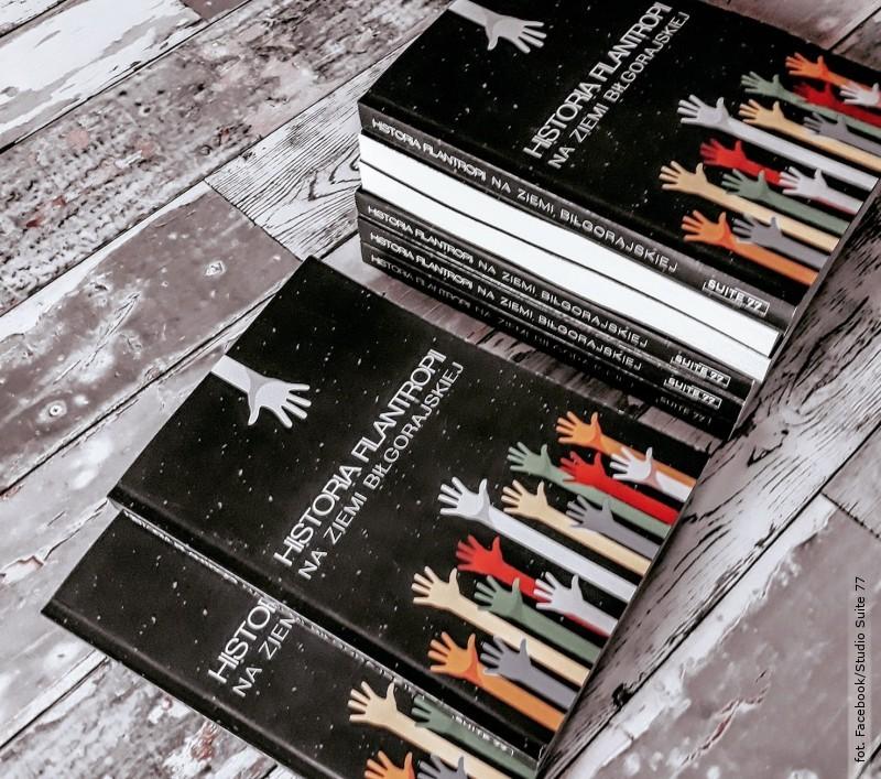 Powstała pierwsza wPolsce książka ofilantropii na terenie Biłgoraja