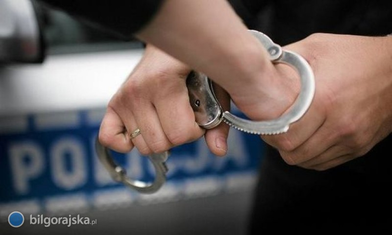 Poprosił policję opomoc. Trafi do więzienia
