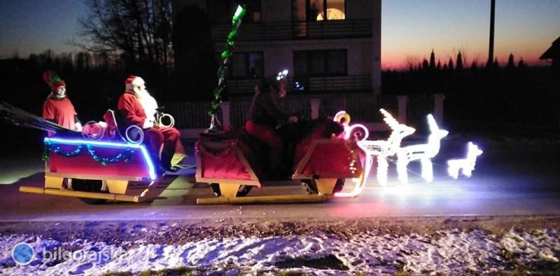 Do Dereźni zawitał Św. Mikołaj