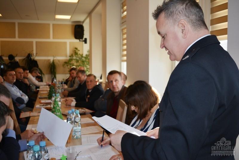 Działalność OSP na terenie gminy Biłgoraj podsumowana