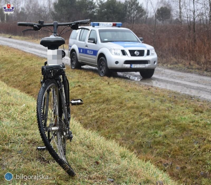 Potrącenie rowerzysty na 835 [AKTUALIZACJA]