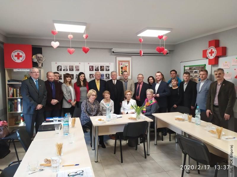 Nowy zarząd biłgorajskiego oddziału PCK