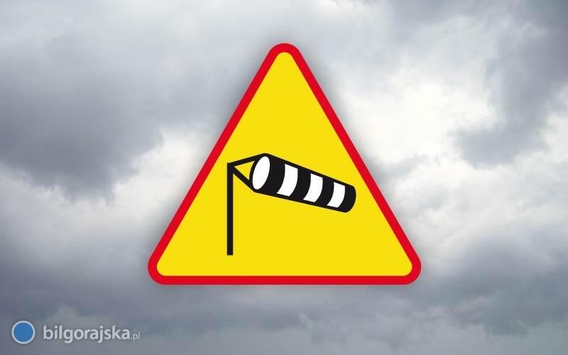 Ostrzeżenie IMGW - wiatr może osiągnąć prędkość 110 km/h