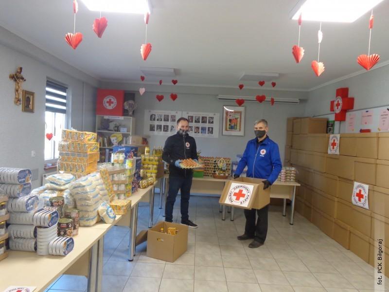 W PCK trwają przygotowania do pomocy świątecznej