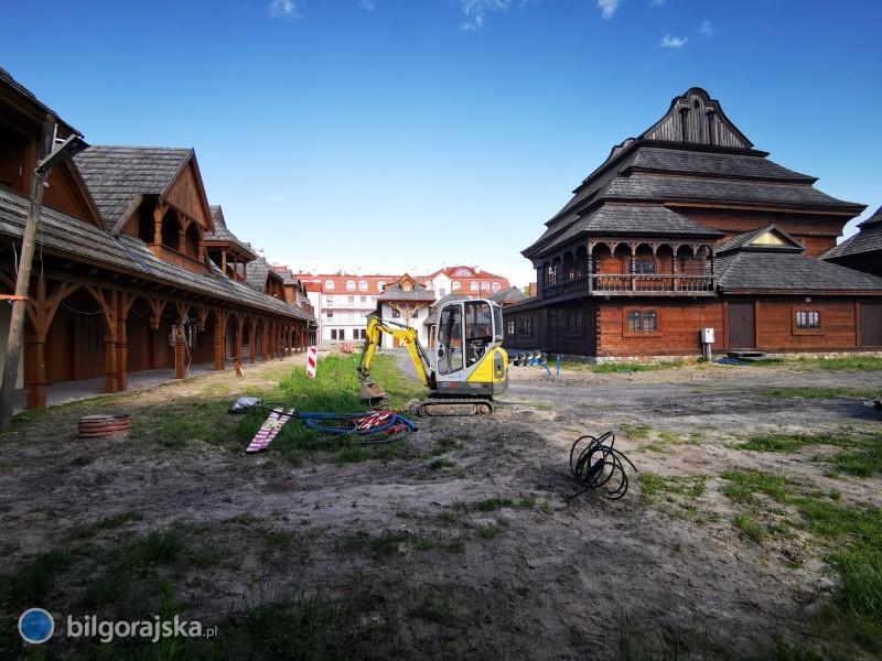 Dalszy etap rozbudowy Miasteczka na Szlaku Kultur