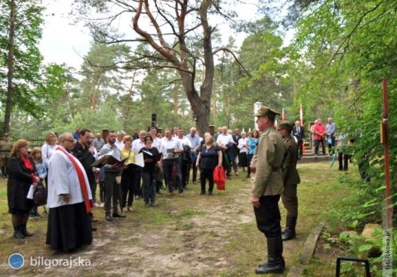 Partyzancka Droga Krzyżowa na rozpoczęcie obchodów 76. rocznicy bitwy pod Osuchami