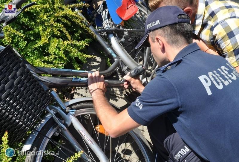 Policjanci będą znakować rowery