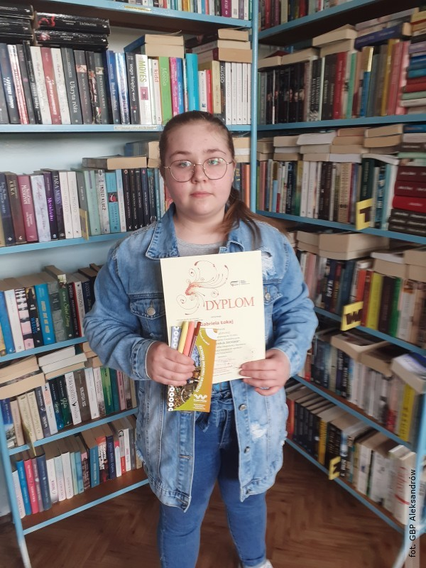 Biblioteka wAleksandrowie dziękuje czytelnikom