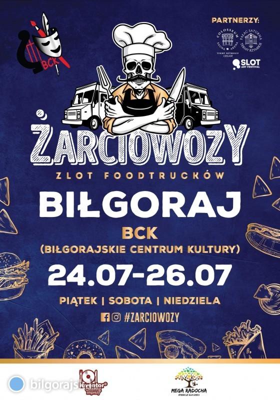 Żarciowozy nadciągają do Biłgoraja