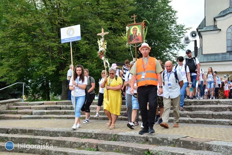 Biłgorajscy pielgrzymi na szlaku