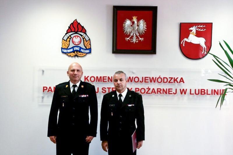 St. bryg. Mirosław Bury komendantem biłgorajskiej straży