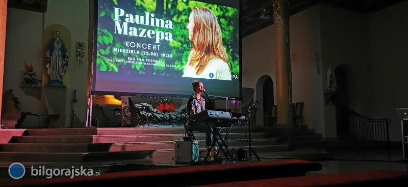 Paulina Mazepa zkoncertem wBiłgoraju