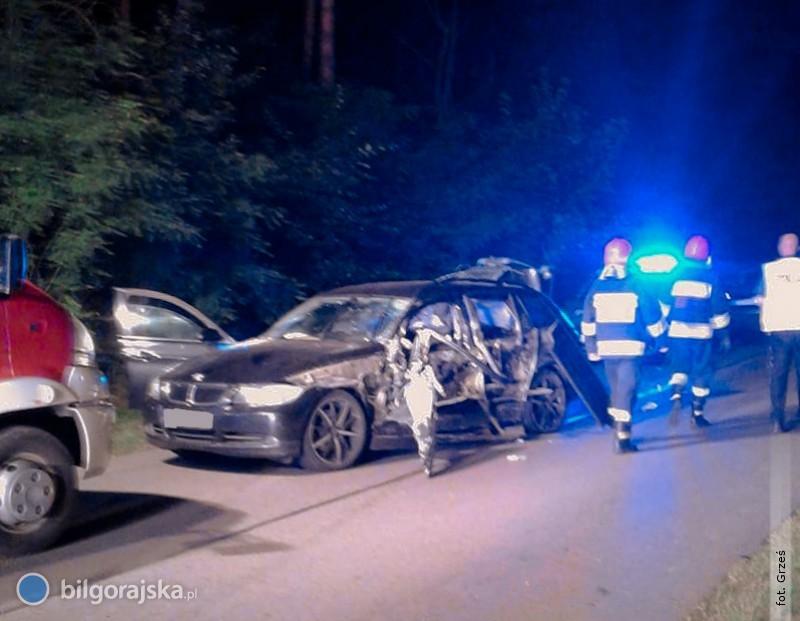 Pijany kierowca spowodował wypadek