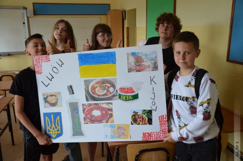 Międzynarodowa współpraca uczniów SP 5