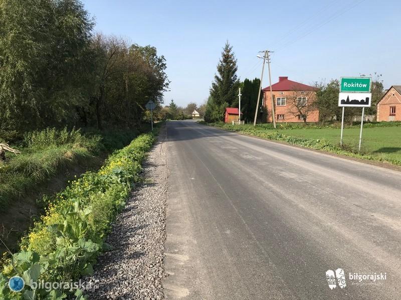 Ponad 10 km nowych dróg wpół roku