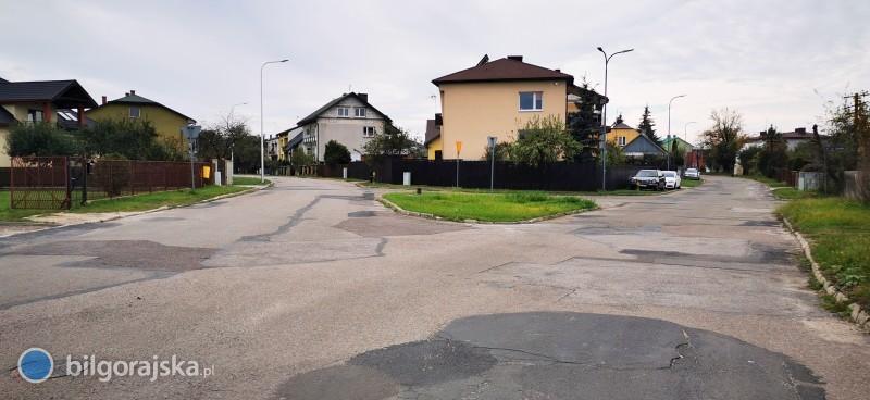 Wniosek oprzebudowę trzech ulic powiatowych