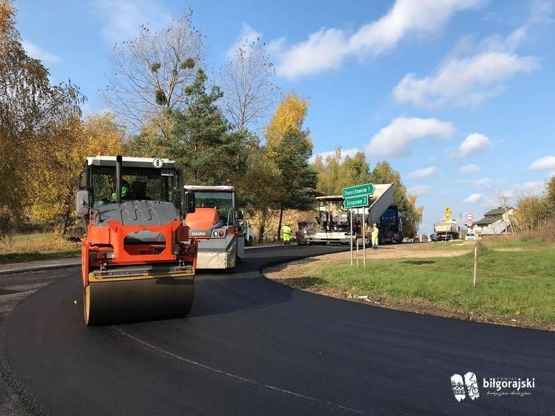 Powiatowe inwestycje drogowe