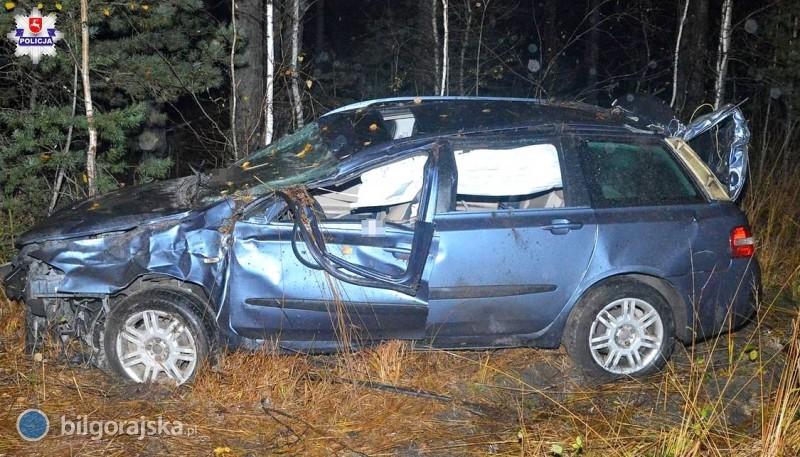 Pijany 36-latek doprowadził do wypadku