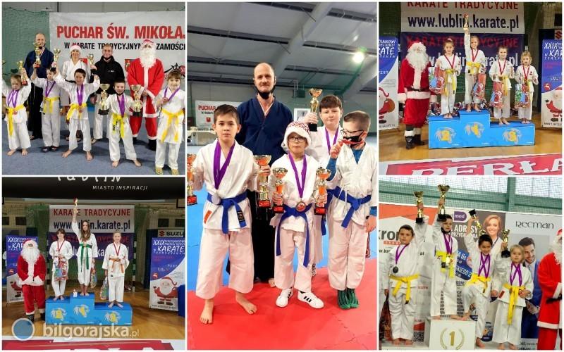 Sukcesy biłgorajskich karateków