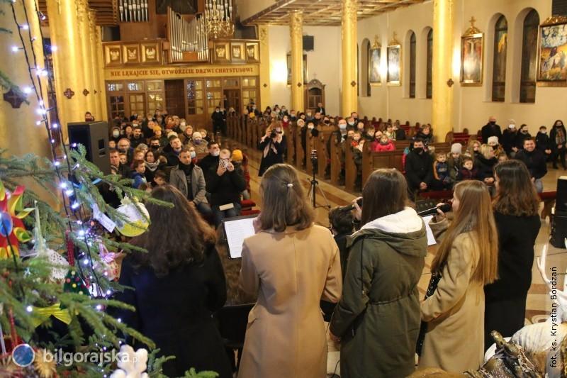 Koncert kolęd wparafii Jana Pawła II