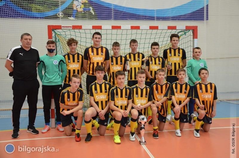 Trampkarze starsi szkółki sportowej OSiR Biłgoraj najlepsi