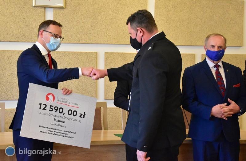 Prawie 150 tys. zł dla OSP zterenu gminy Biłgoraj
