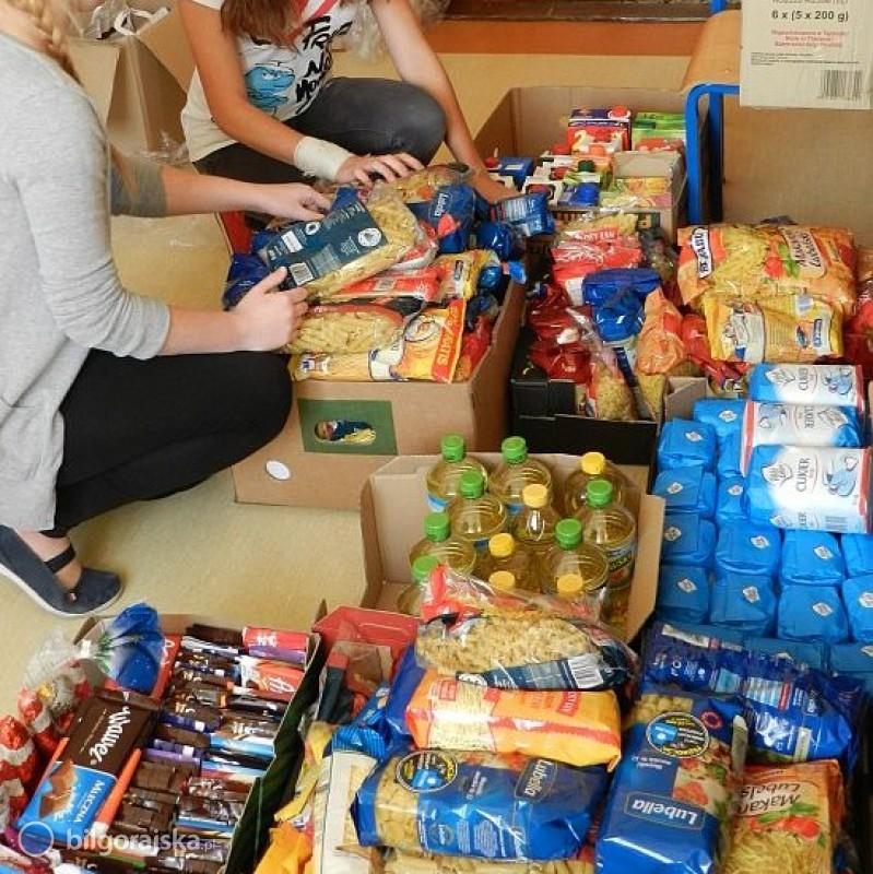 Pomoc żywnościowa dla mieszkańców gminy Łukowa