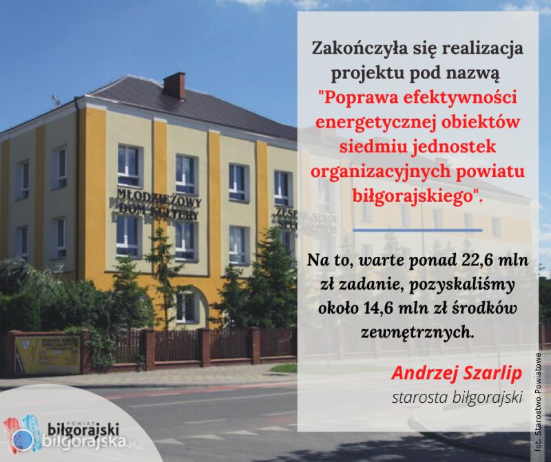 Zakończył się projekt owartości ponad 22 mln zł