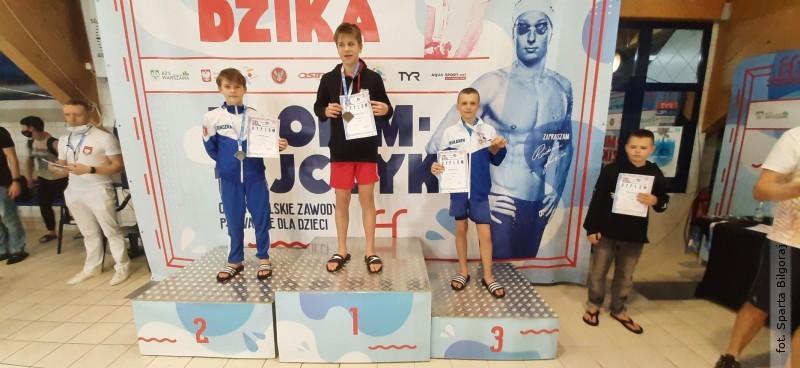 Sukcesy biłgorajskich pływaków
