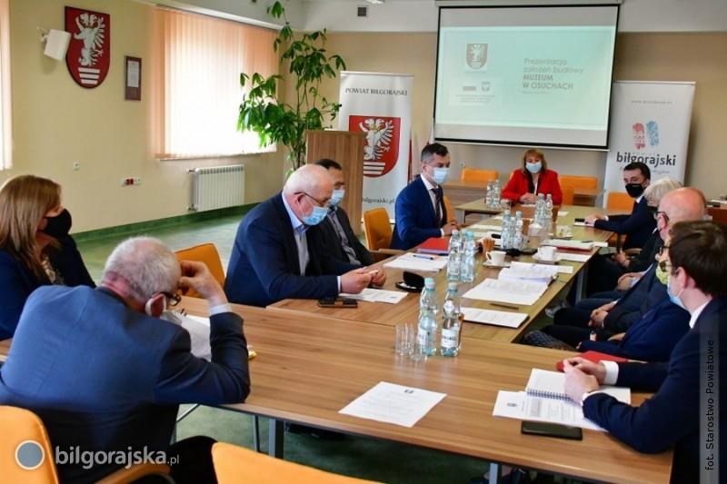 Przyjęto założenia do koncepcji budowy muzeum wOsuchach