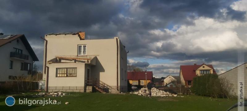 Ogromne zniszczenia po majowej nawałnicy. Rodzina prosi opomoc