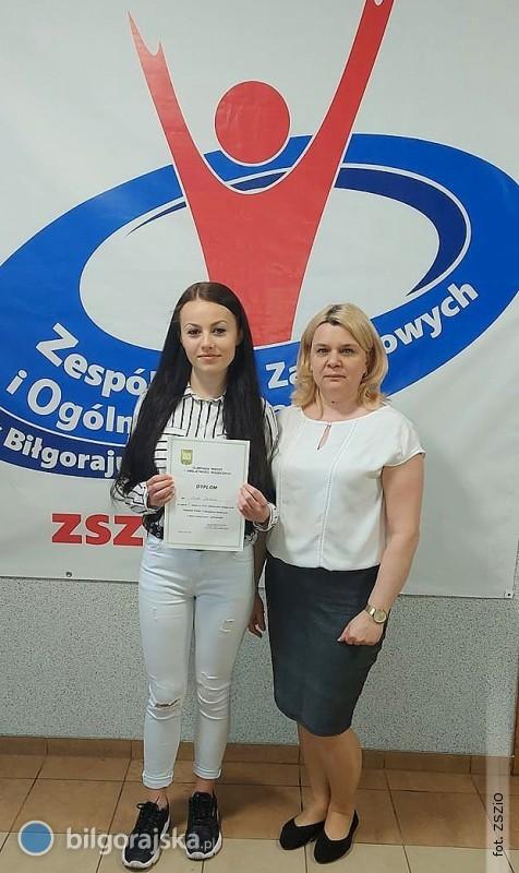 Sukces uczennicy ZSZiO - Mirela wcentralnym etapie olimpiady