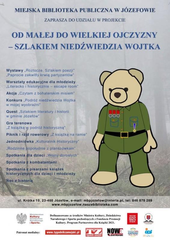 Czytelniczym szlakiem niedźwiedzia Wojtka