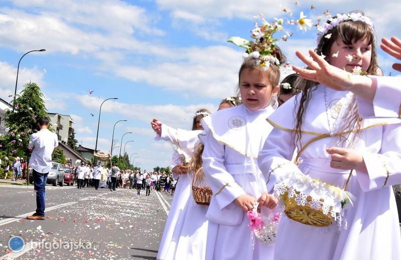 Z Chrystusem wNajświętszym Sakramencie ulicami miasta
