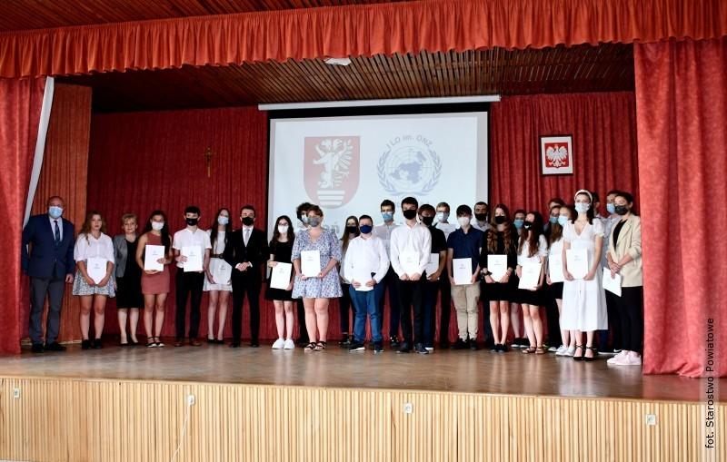 Olimpijczycy wyróżnieni przez starostę biłgorajskiego