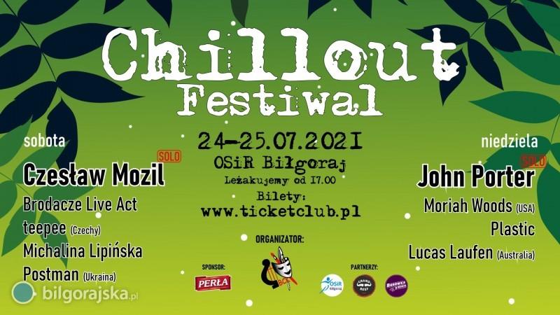 Chillout Festiwal już wnajbliższy weekend